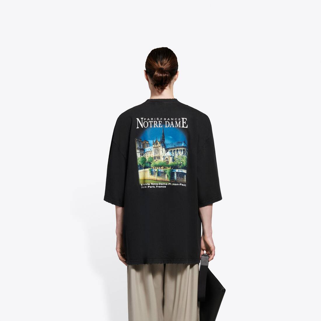 Display zoomed version of sacré cœur xl t-shirt 5