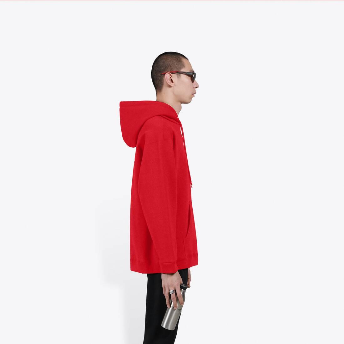 Display zoomed version of logo medium fit hoodie 4