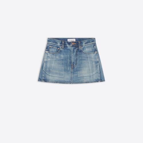 6 pocket mini skirt