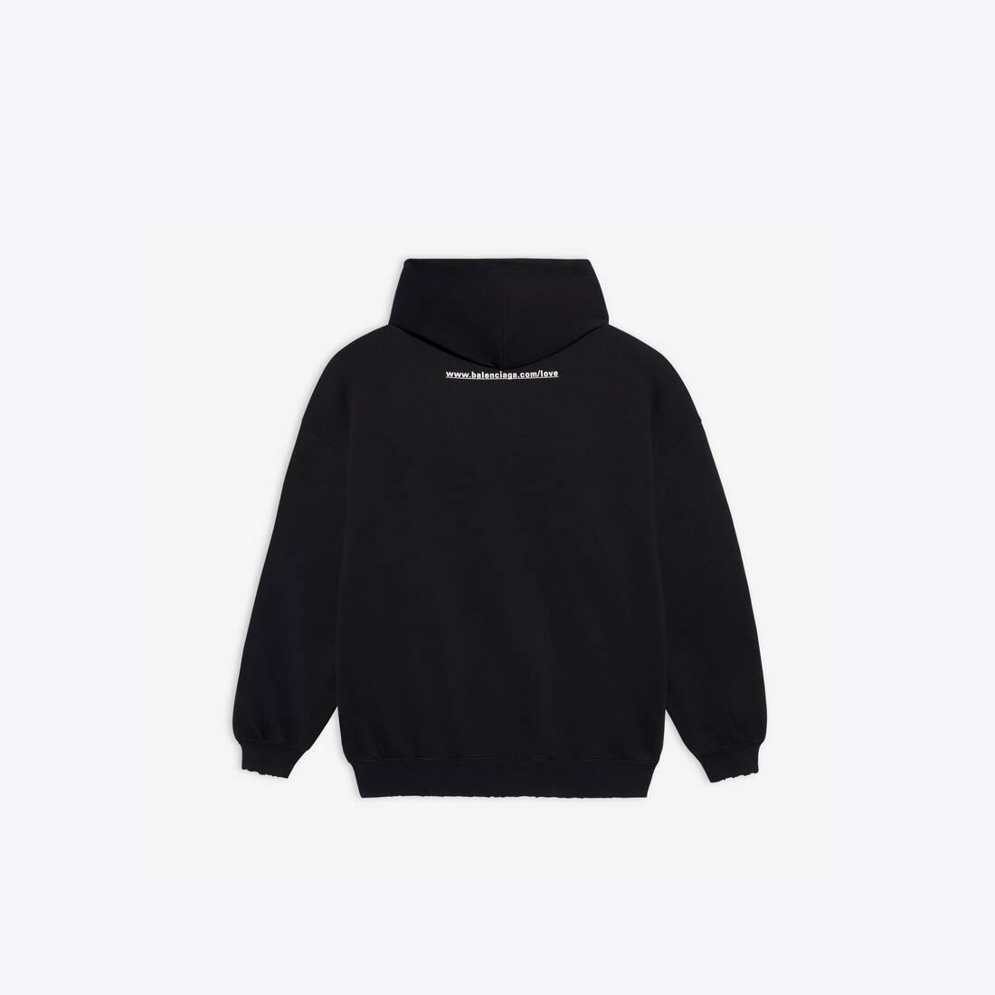 Display zoomed version of i love u medium fit hoodie 2