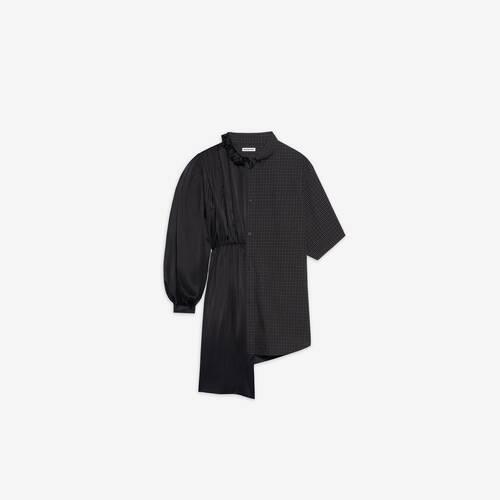 vestido de camisa 50/50