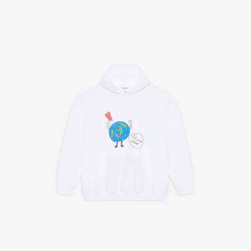 love earth large fit hoodie