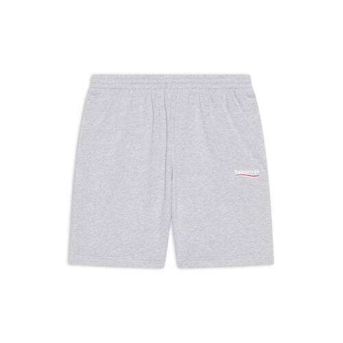political campaign sweat shorts