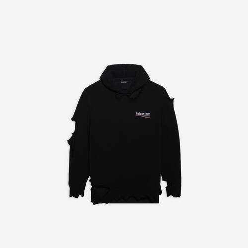political campaign destroyed hoodie