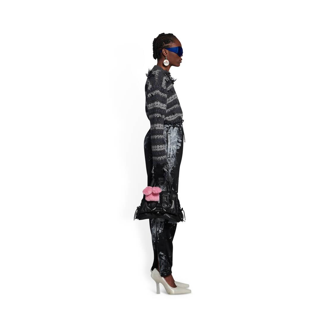 Display zoomed version of sneakerhead small top handle bag 5