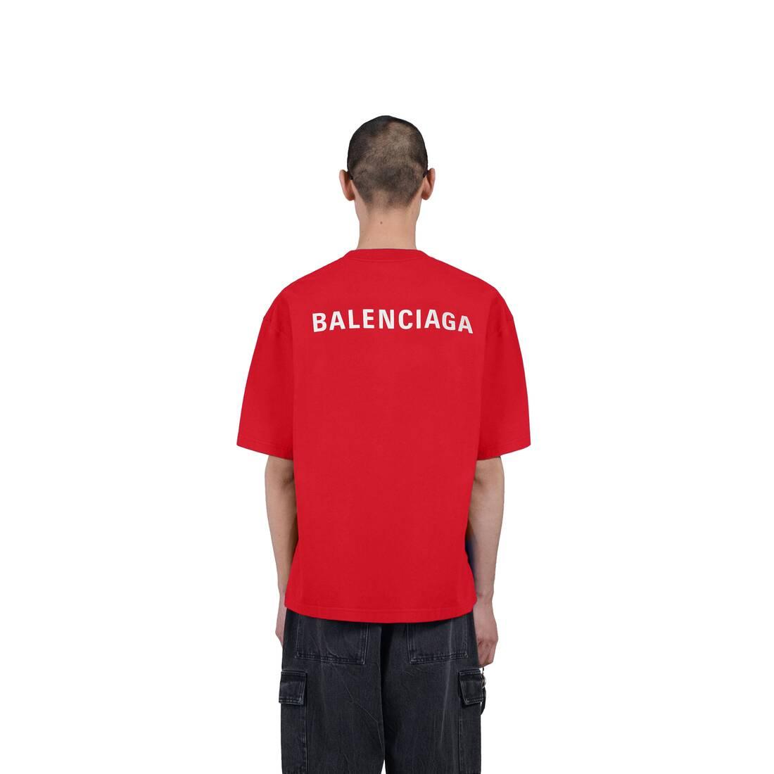 Display zoomed version of logo medium fit t-shirt 5