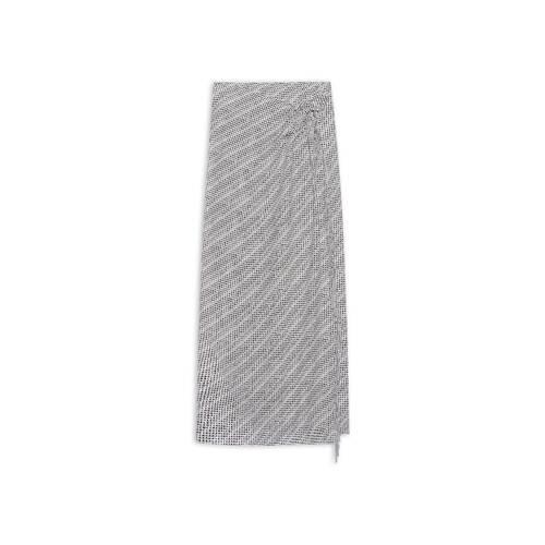 archive letters fringe wrap スカート
