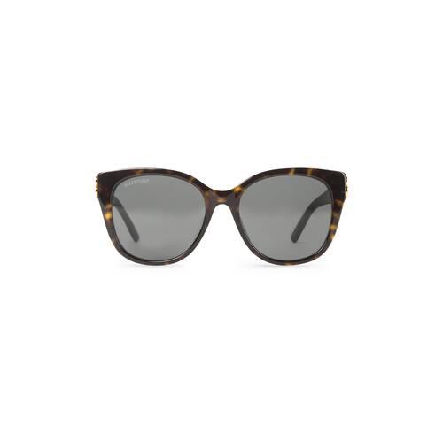 gafas de sol ajustadas en forma de ojos de gato dynasty