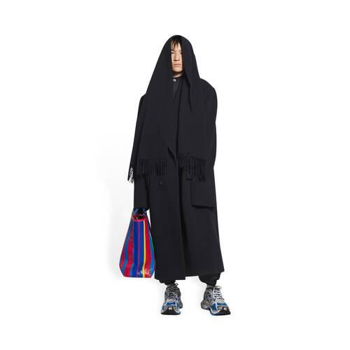 headscarf coat