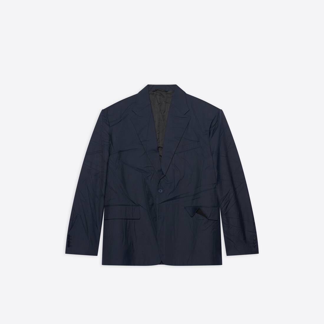 Display zoomed version of oversize single breasted jacket 1
