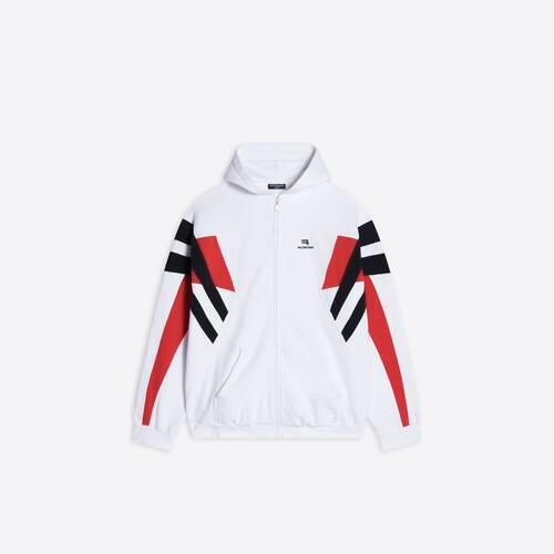 sporty b zip-up tracksuit hoodie