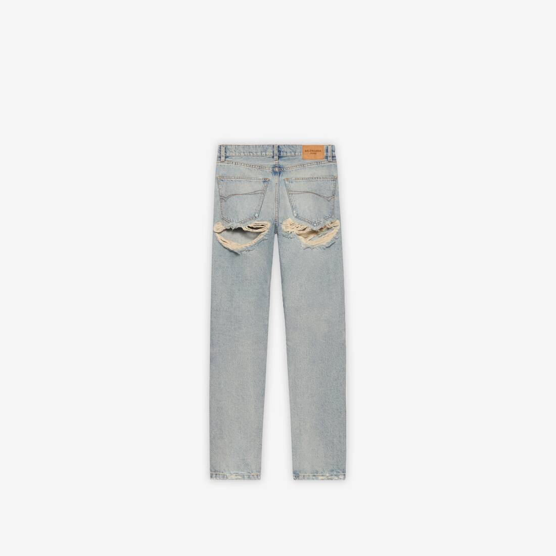 Display zoomed version of destroyed normal pants  2