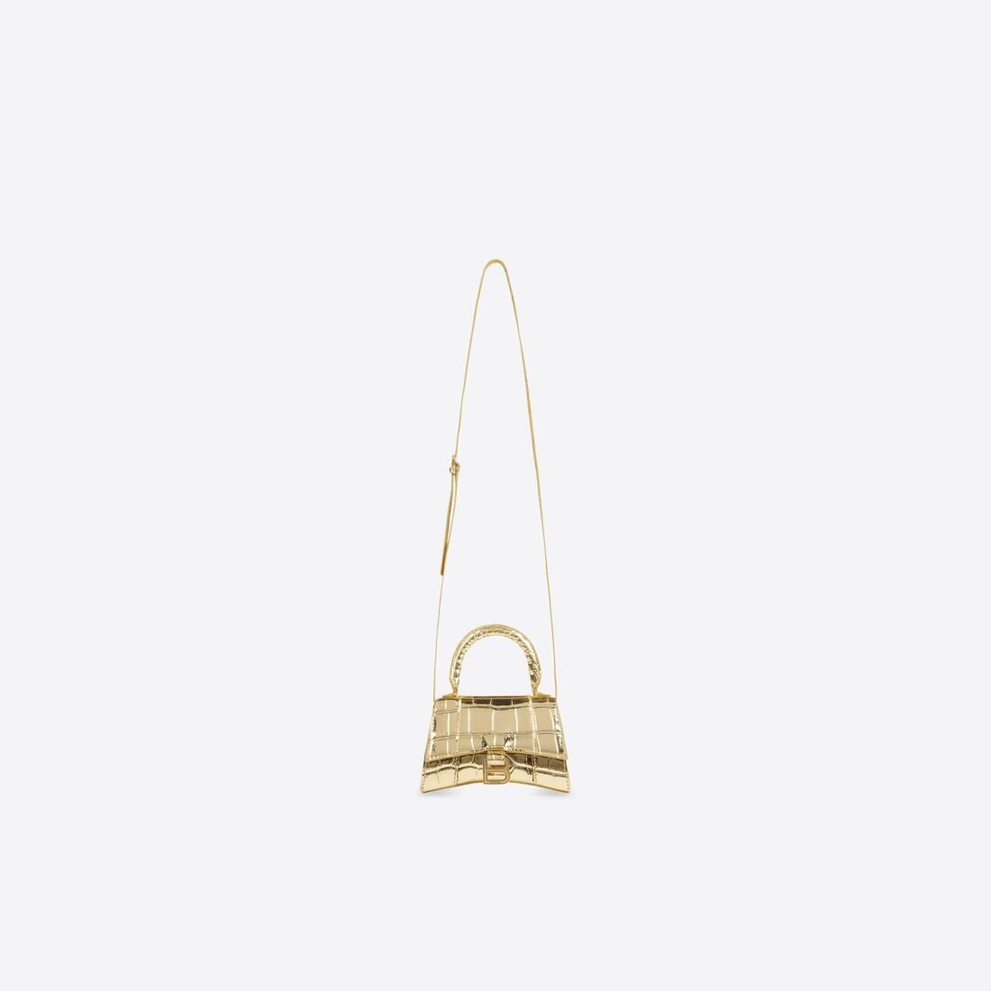 Display zoomed version of hourglass mini top handle bag 4