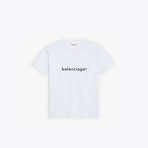 new copyright small fit t-shirt
