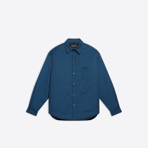 padded large fit shirt