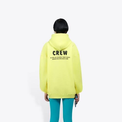 crew medium fit hoodie