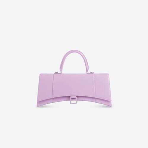 hourglass stretched top handle bag