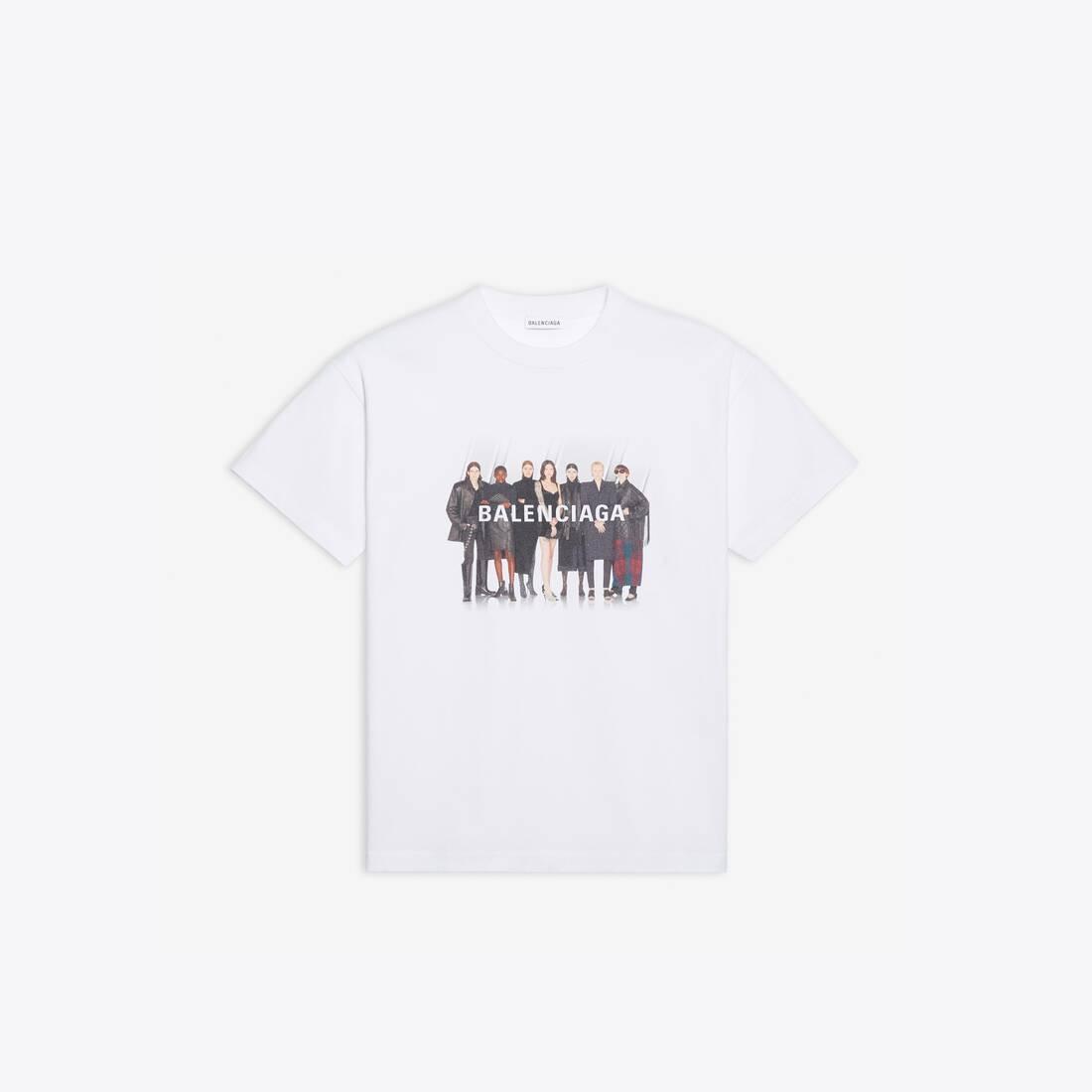Display zoomed version of real balenciaga medium fit t-shirt 1
