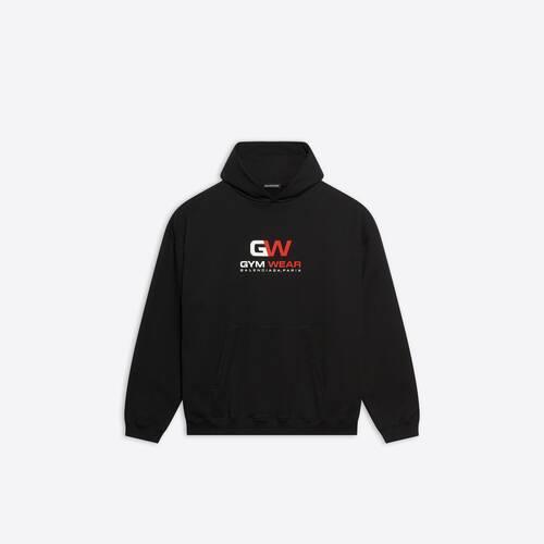 gym wear large fit hoodie