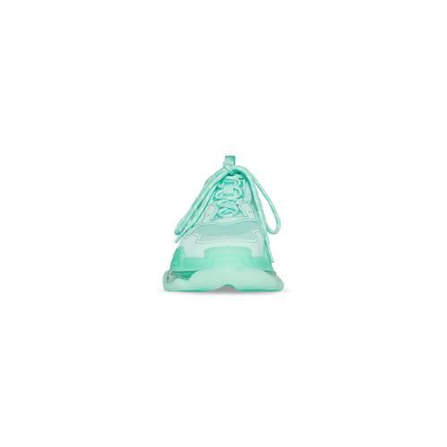 triple s sneaker clear sole