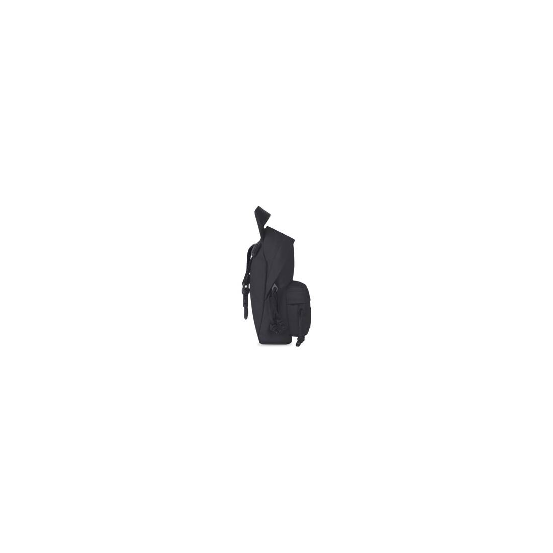Display zoomed version of oversized mini backpack 3