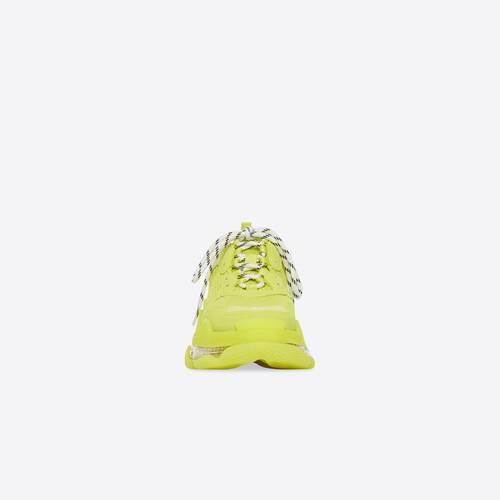 triple s clear sole sneaker