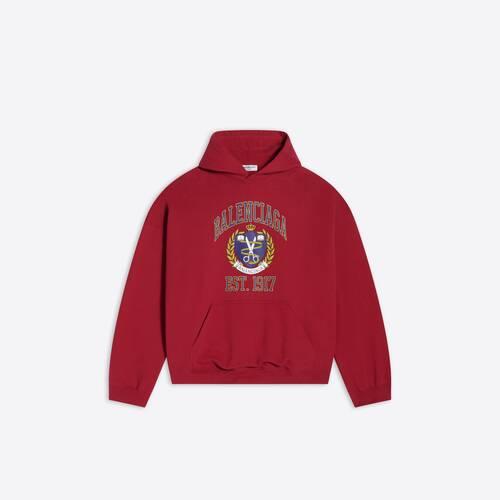 college wide fit hoodie