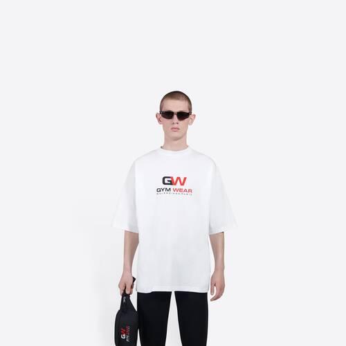 gym wear large fit t-shirt