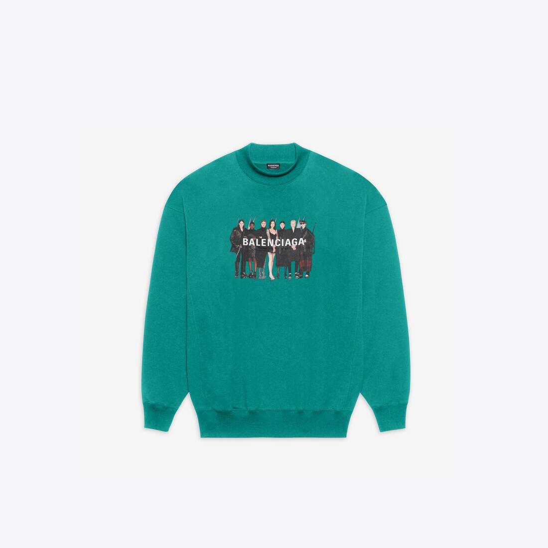 Display zoomed version of real balenciaga 2 crewneck sweater 1