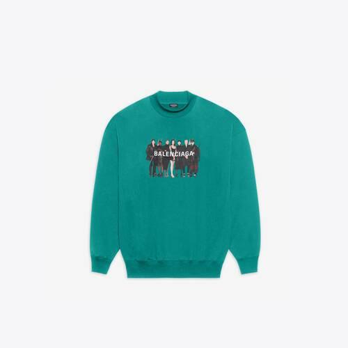 real balenciaga 2 crewneck sweater