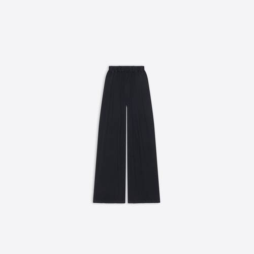 oversize worn-out pants
