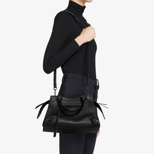 neo classic small top handle bag