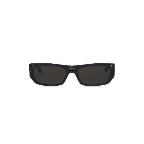 lunettes de soleil shield rectangle