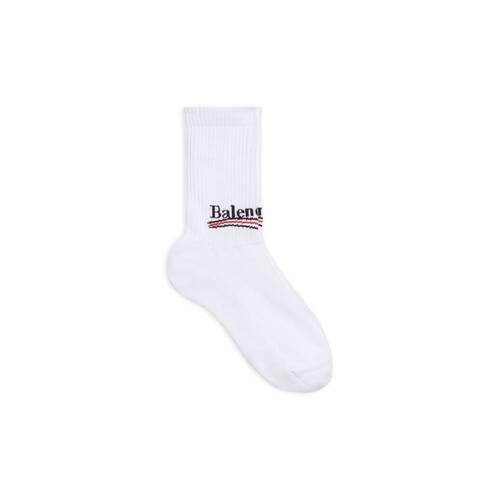 political campaign tennis socks