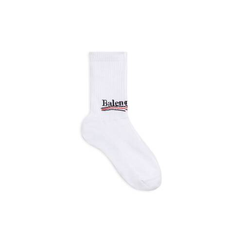 political campaign tennis socks