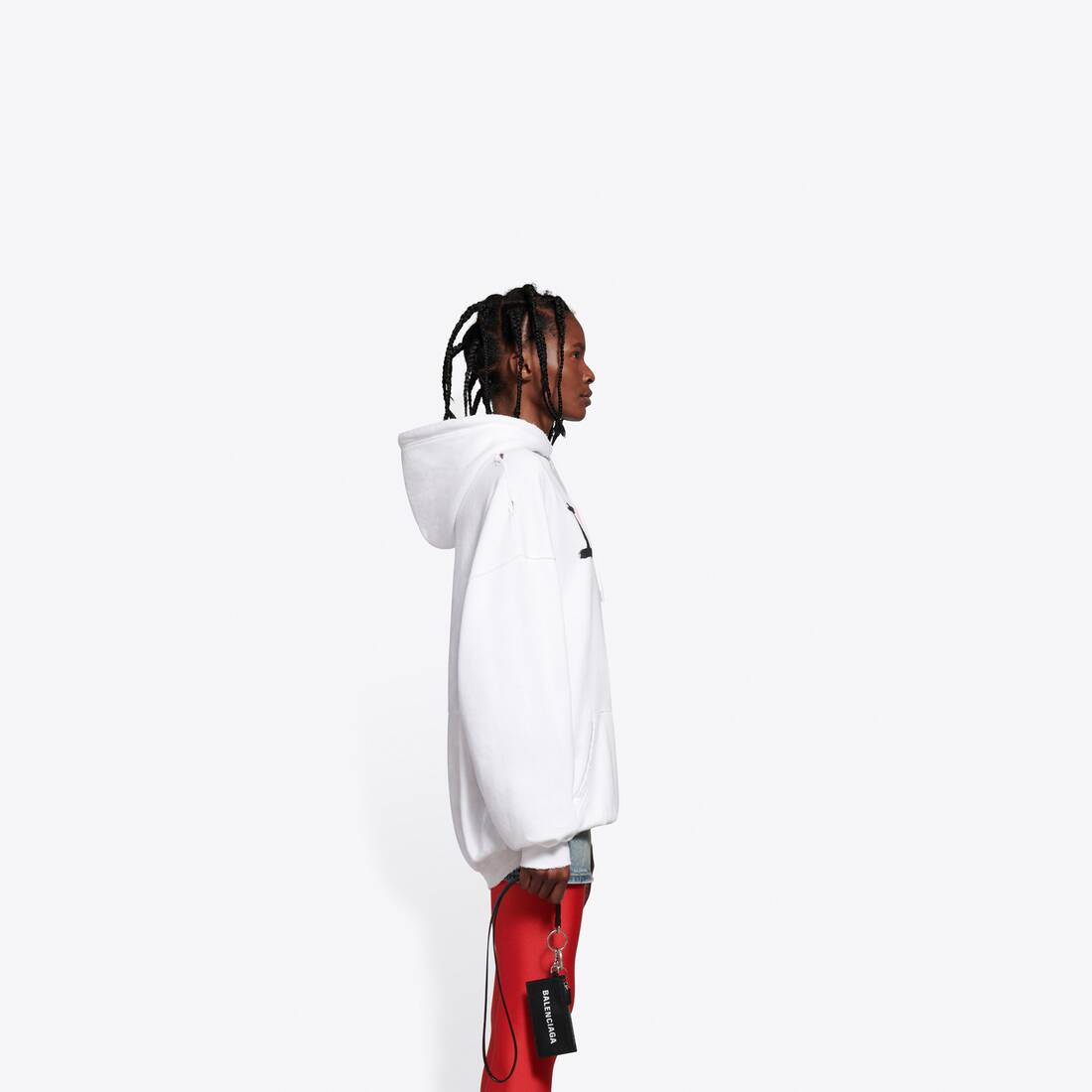 Display zoomed version of i love u medium fit hoodie 4