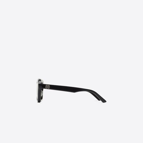 power rectangle sunglasses