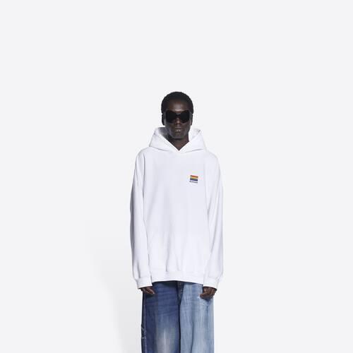 lgbtq boxy hoodie