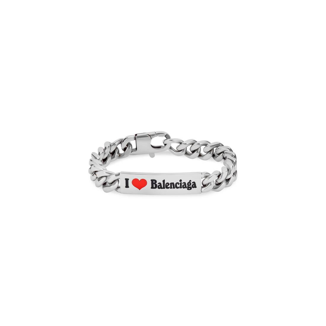 Display zoomed version of plate gourmette bracelet  1