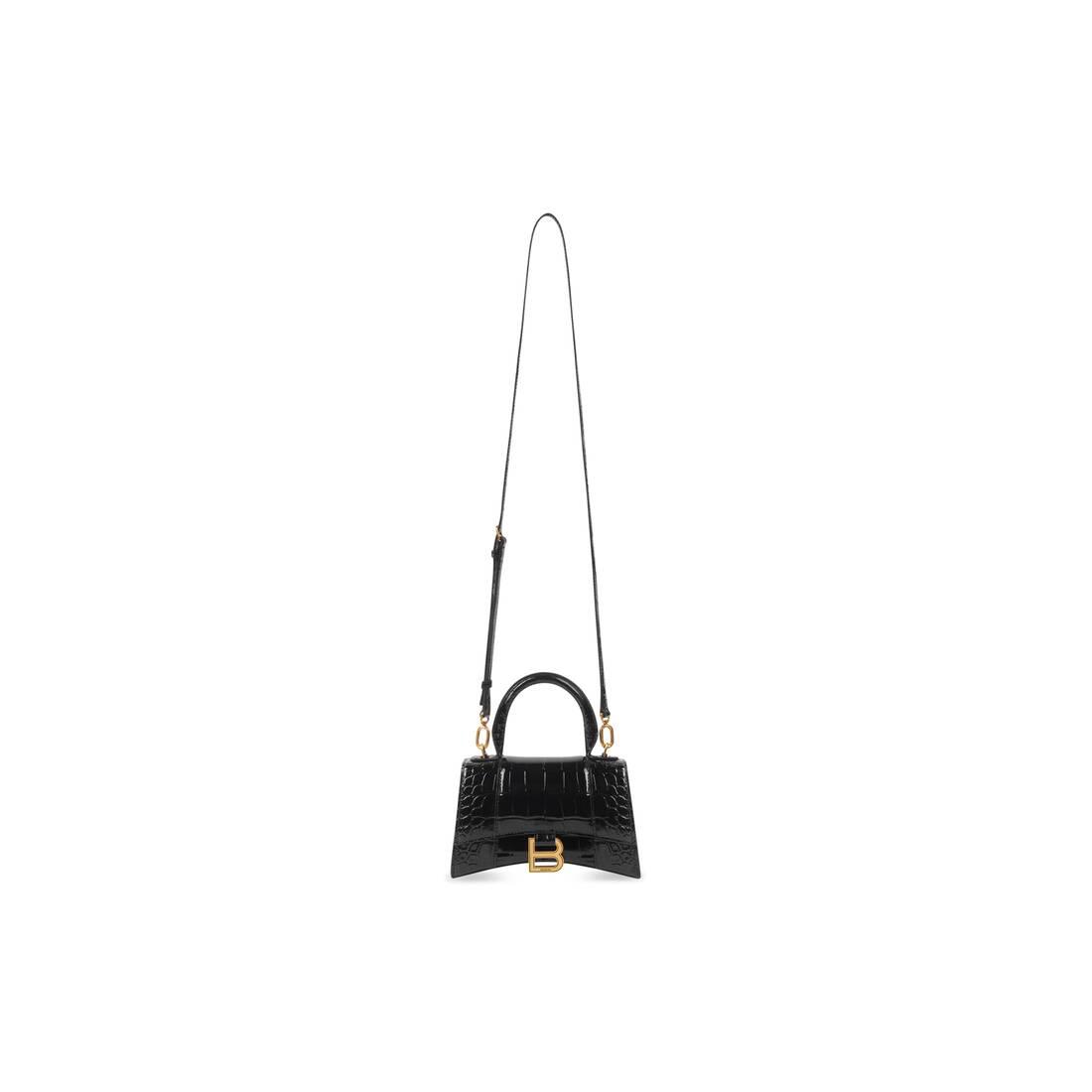Display zoomed version of hourglass xs top handle bag 4