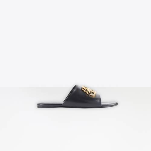 oval bb mule sandal