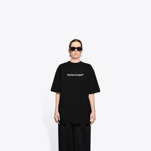 new copyright large fit t-shirt
