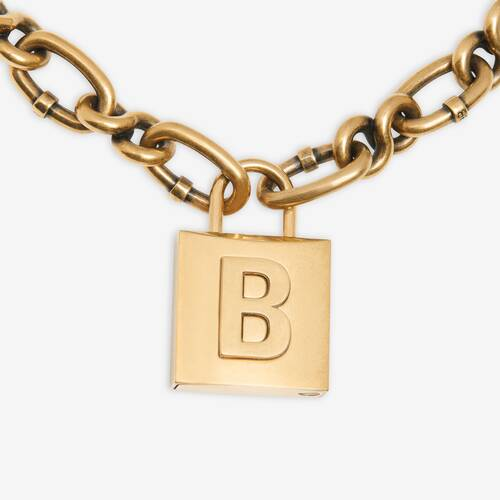 lock chain 네크리스