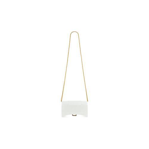hourglass mini wallet on chain