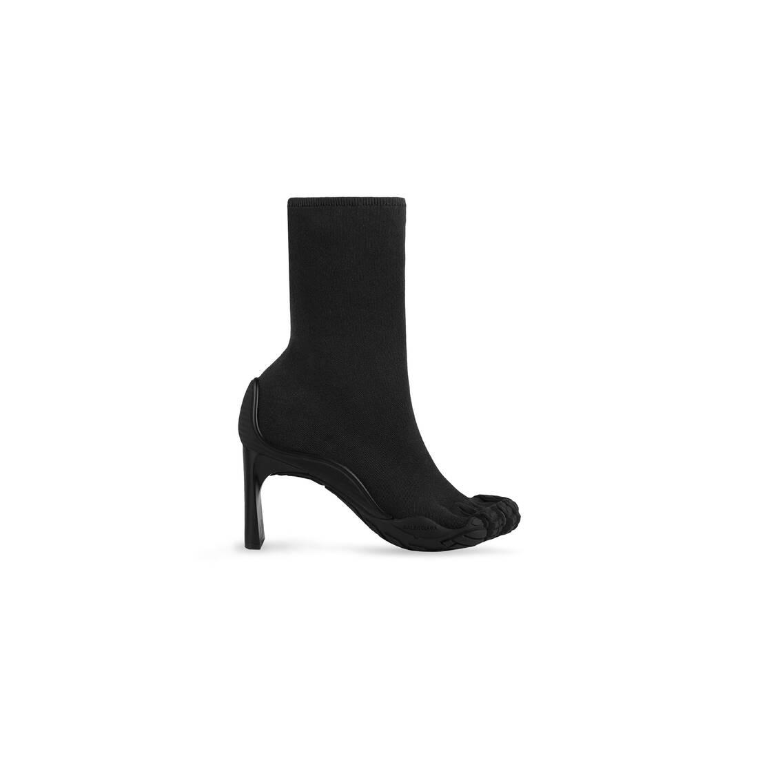 Display zoomed version of heeled toe  1