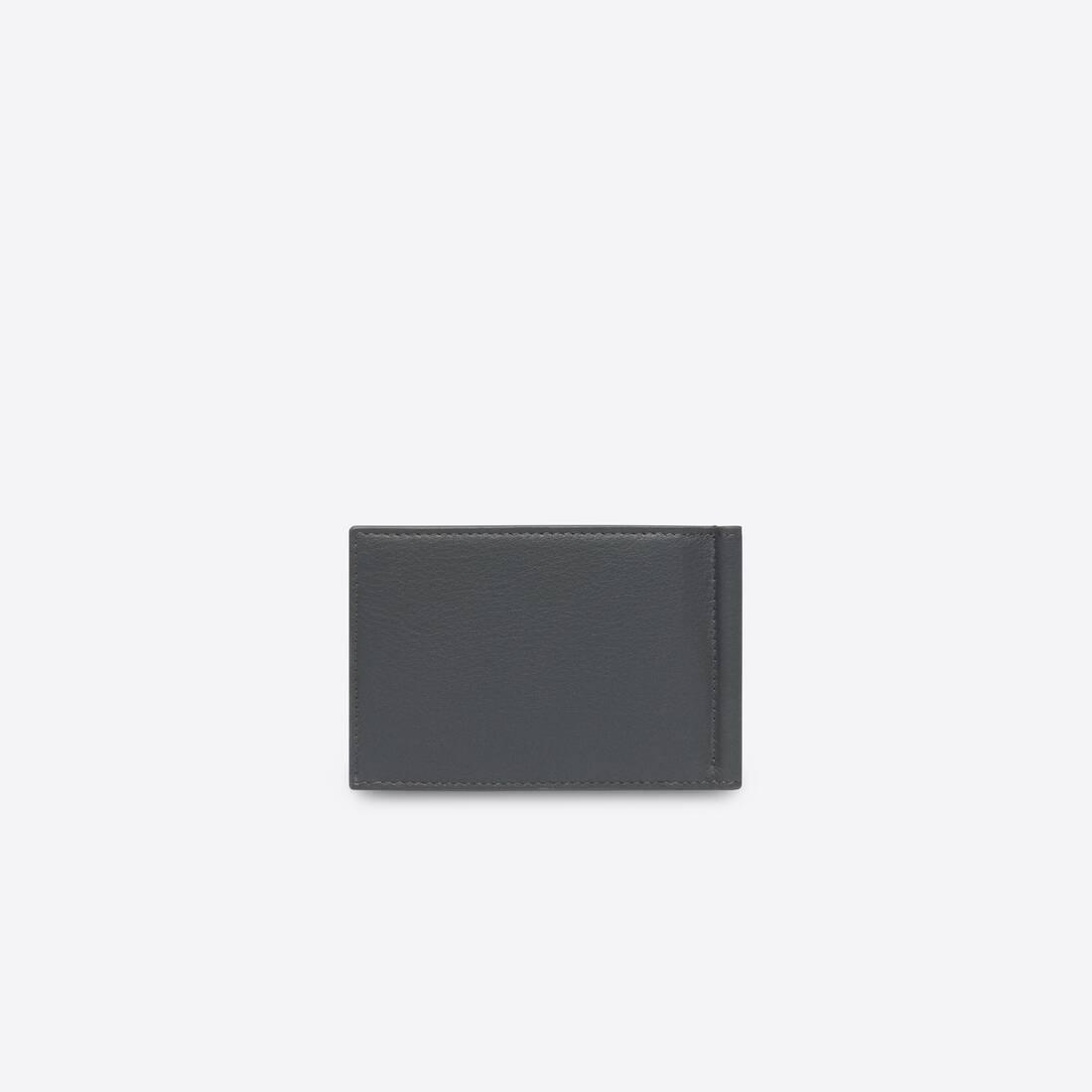 Display zoomed version of portefeuille carré avec pince à billets cash 2