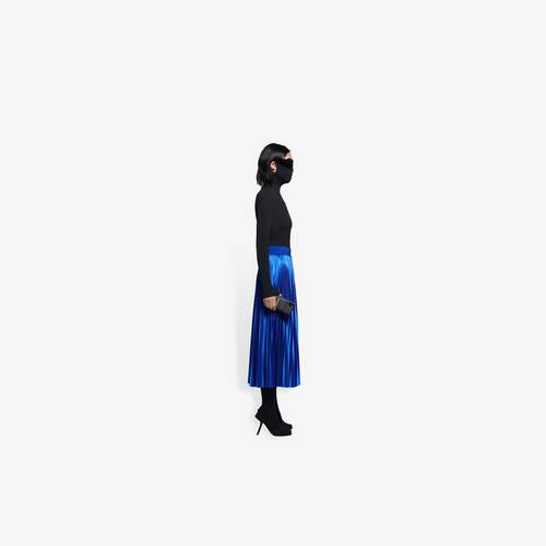 pleated tracksuit skirt