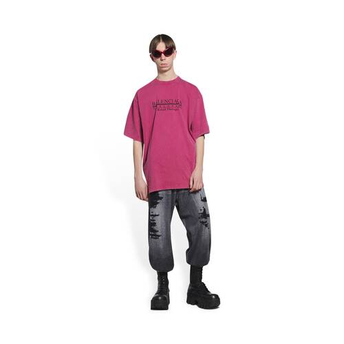 retail therapy slit t-shirt