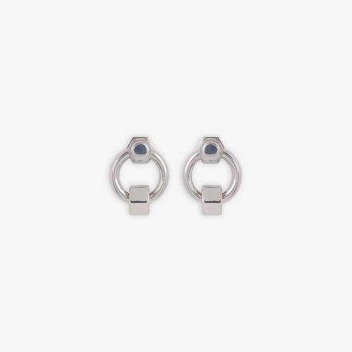 screw round earrings