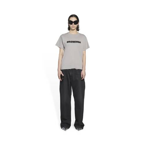 blurry small fit t-shirt